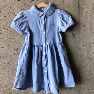 Ralph Lauren dress in light blue